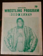Professional Wrestling program, Rochester NY.  March 30, 1971