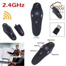 Wireless USB Remote Control Clicker PPT PowerPoint Presenter Laser Pointer Pen