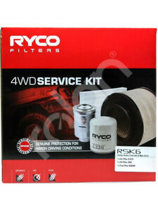 Ryco 4WD Filter Service Kit FOR ISUZU D-MAX 8DH (RSK6)
