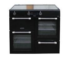 Leisure Induction Range Cooker CK100D210K in 100cm Black Electric #2139