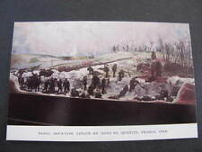 Model Attack on Mont St Quentin France 1918 Postcard