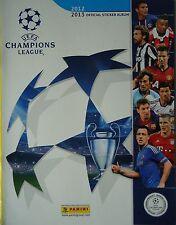 PANINI OFFICIAL STICKER ALBUM UEFA cl2012/13 & 6 Sticker Alonso Jones Toure...