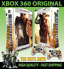 Xbox 360 Schlachtfeld Hardline Folie Sticker Zubehör & 2 Controller Polster