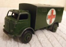 DINKY MILITARY MODEL  *** MILITARY AMBULANCE ***  CAT No 626 - USED