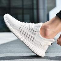 Men Sneakers Mesh Outdoor Casual Sport Walking Running Breathable Athletic Shoes