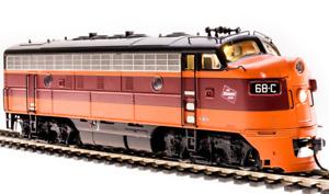 BLI 4856 MILWAUKEE ROAD HIAWATHA F7A Locomotive #68C w/DCC & Sound NIB