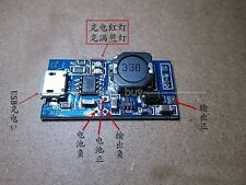 USB Lithium Li-ion Lipo Battery Charger Module 3.7v 4.2v Boost Step Up 9V 6F22
