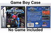 Metroid Fusion - Game Boy Advance GBA Case - *NO GAME*