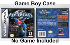 Metroid Fusion - Game Boy Advance GBA Case - *NO GAME*