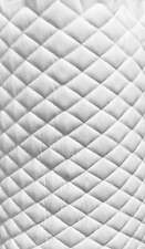 white Suede Faux Quilted auto headliner headboard trim fabric with Foam back