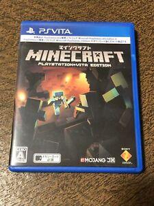 PS Vita Minecraft: PlayStation PS Vita Edition [Japan Import] Region Free