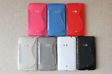 Free Canada Shipping! Nokia Lumia 625 Phone Case Gel Rubber 7 Colours Telus Fido