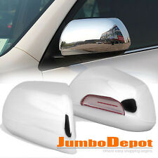 Fit 2008-2013 TOYOTA Highlander 2011-15 Sienna Chrome Rearview Mirror Cover Trim