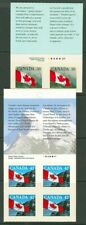 CANADA 1989 CANADIAN FLAG SELF-ADHESIVES EX BOOKLET (ID:275/D10012)