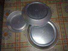set 3 teglie per cassata siciliana da 500 gr, 1 kg, 2 kg