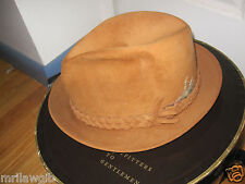 Churchill Fedora Felt Men's Dress Hat 7 1/8 with Box