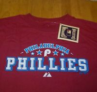VINTAGE COOPERSTOWN COLLECTION  PHILADELPHIA PHILLIES MLB T-Shirt LARGE NEW