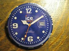 Ice Sili Forever Blue Face Wristwatch Watch Advertisement Lapel Hat Button Pin