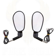 Rear View Mirrors Muscle LED Turn Signals Light For Harley V-ROD VRSCF