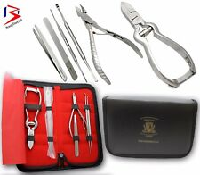 Professional HEAVY DUTY THICK Toe Nail Clippers PLIER Chiropody Podiatry Steel