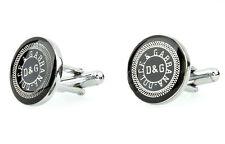 Dolce Gabbana cufflinks Silver metal Brand designer Mens shirt accessories D&G