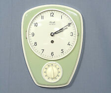 Mechanical Kienzle Wall Clock With Timer Mint Green Kitchen Clock