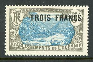 French Polynesia 1926 Oceanie Sc # 70 Mint V189