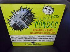 Luxury Condos [Yo La Tengo Syd Straw Scruffy The Cat] LP Coyote Records Sealed