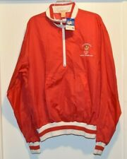 1985 NWT Vintage Logo 7 Inc Jacket NFL San Francisco 49ers CHAMPIONS size XL red