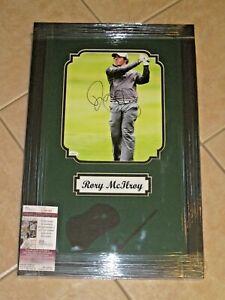 Rory McIlroy signed PGA Tour 8x10 Photo JSA #G01983 FRAMED Autographed