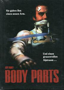 BODY PARTS (1991) - X2 Dvds & Mediabook -