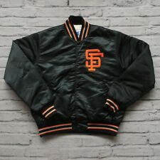 Vintage San Francisco Giants Satin Jacket by Starter Size M 90s