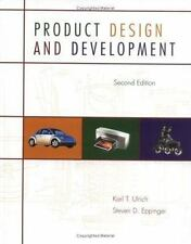 Product Design and Development by Karl T. Ulrich and Steven Eppinger (1999,...