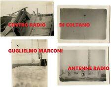 1910 CENTRO RADIO MARCONI - Coltano (Pisa Livorno) wireless telegraphy station