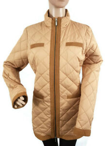 GEOX Women's Jacket Tan Colour Relaxed Fit Size UK 8 W6220U T2204 F5099