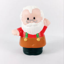 Fisher-Price Little People CHRISTMAS EVE ORNAMENT Santa's Workshop Figure Gift