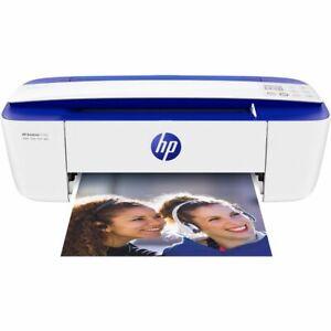 HP DeskJet 3760 Inkjet Printer Blue / White
