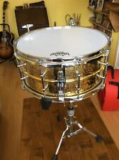 Ludwig Hammered Brass Snare