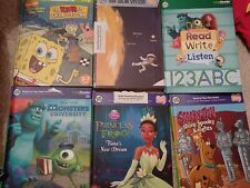 6 x Leapfrog TAG Learning Books