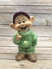 Disney China Ceramic  DOPEY Figurine Snow White and The Seven Dwarfs 6.5""