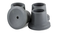 4-Pack Rubber Tips Replacement For Bathroom Shower Chair Bath Tub Stool Commodes