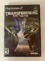Transformers The Game Play Station 2 Used Game A07