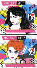 4CD   MAXI DISCO I love 80's GREATEST DISCO HITS OF THE 80's