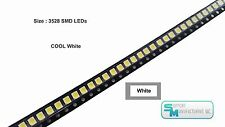 Pack of 100 White 1210 PLCC-2 3528 SMD SMT LED Light Chip