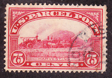 US Scott Q11 old 75c Parcel Post stamp U/VF CV $40