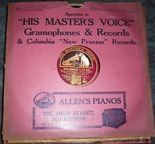 78 rpm  Song memories of the war              Community singing