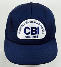 Fitzpatrick Maintenance Project CBI 1986-1988 Trucker Baseball Hat Cap (h4)