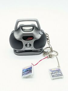 Vtg 2000 Hit Clips Micro Boombox WITH 2 Cartridges Backstreet Boys