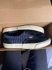 VANS Authentic Men Sneakers 9.5 ERA Classic denim suede 59 CA blue black
