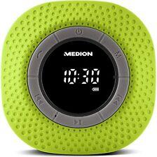 MEDION E66554 Duschradio mit Bluetooth, 20 Watt, PLL UKW, IPX7, eingebauter Akku